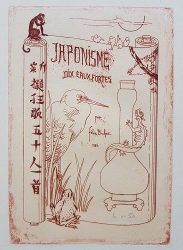 Japonism, Ten Etchings by Félix Buhot by Felix Buhot at