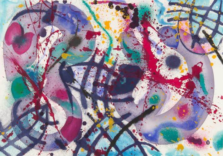 Trietto #3 by Sam Francis at Galerie d'Orsay