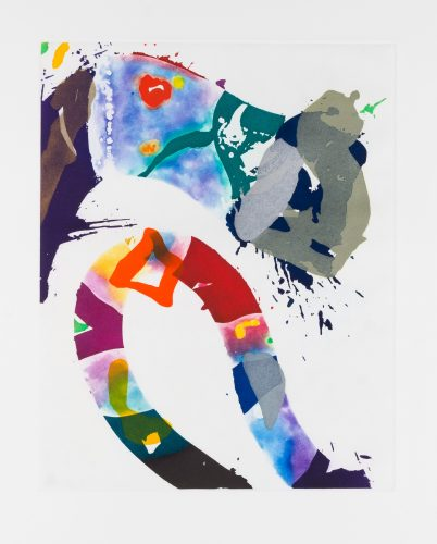 Untitled (SFE-092) by Sam Francis at Galerie d'Orsay