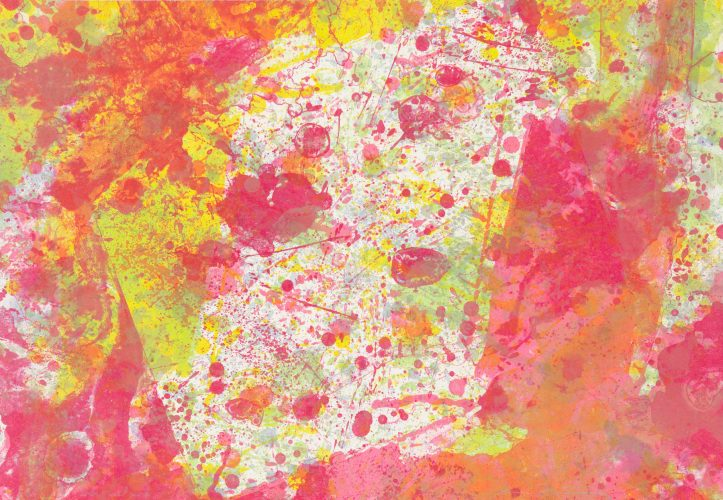 And Pink (SF-143) by Sam Francis at Galerie d'Orsay