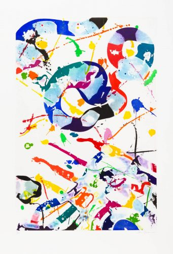 Untitled (SFE-084) by Sam Francis at Galerie d'Orsay