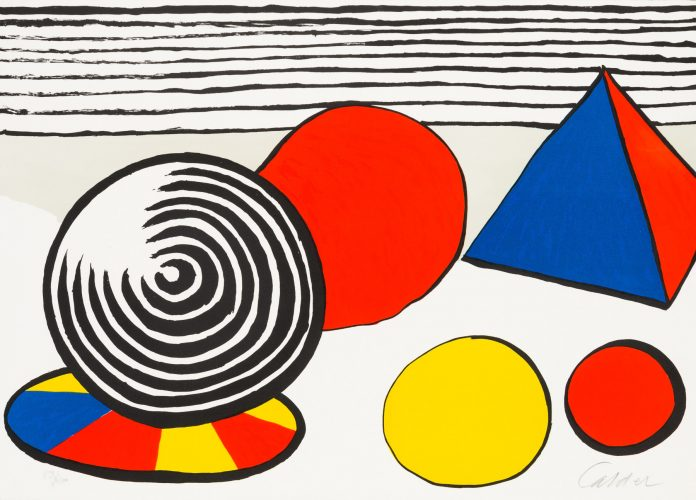 The Birth of the Unexpected by Alexander Calder at Christopher-Clark Fine Art