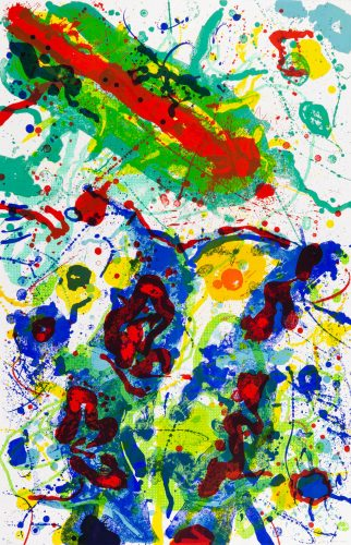 Untitled (SF-341) by Sam Francis at Christopher-Clark Fine Art