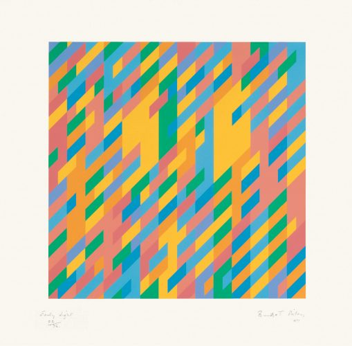 Early Light, 1987 by Bridget Riley at