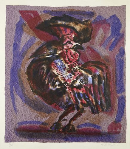 Michael Rothenstein – Cockrel by Michael Rothenstein at