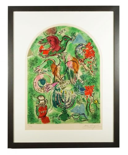 The Tribe of Asher by Marc Chagall at