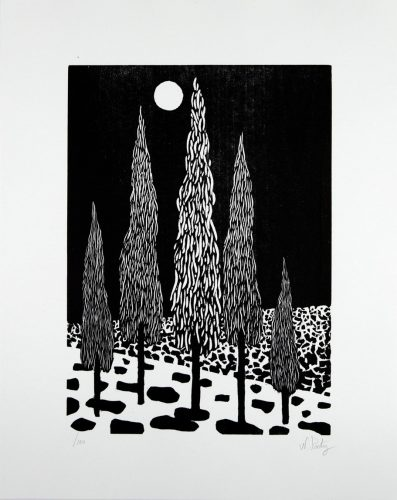 Trees by Nicolas Party at