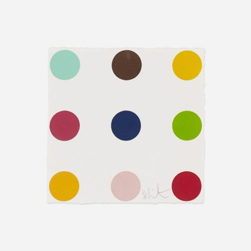 Ethisterone by Damien Hirst at