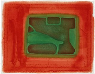 A Furnished Room by Howard Hodgkin at