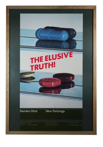 The Elusive Truth (Two Pills) by Damien Hirst at Hidden
