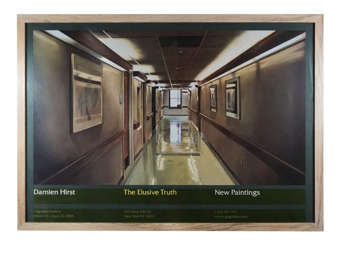 The Elusive Truth (Hospital Corridor) by Damien Hirst at Hidden