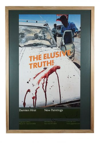 The Elusive Truth (Suicide Bomber Aftermath) by Damien Hirst at Hidden