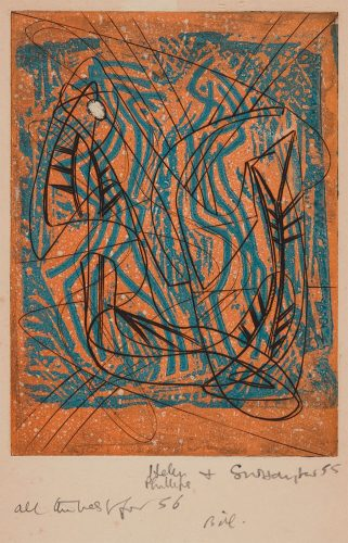 Two Compositions by Stanley William Hayter at