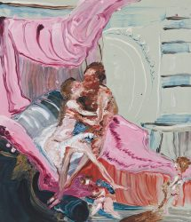 Heracles And Omphale (after François Boucher) by Genieve Figgis at