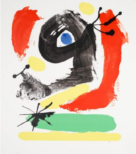 Untitled by Joan Miro at Hidden
