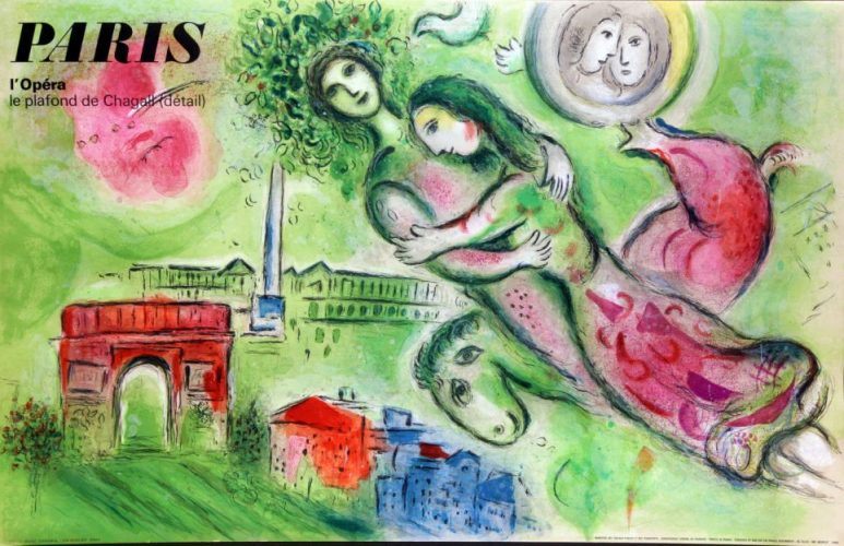Paris Opera: Romeo and Juliet by Marc Chagall at