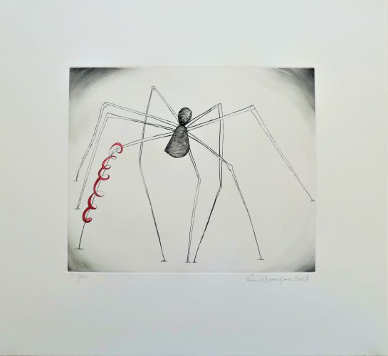 Untitled (Spider and Snake) by Louise Bourgeois at