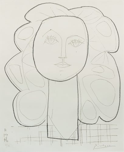 Françoise by Pablo Picasso at
