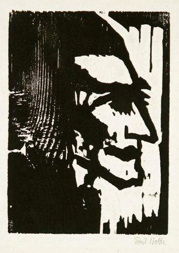 Junger Mann (Young Man) by Emil Nolde at