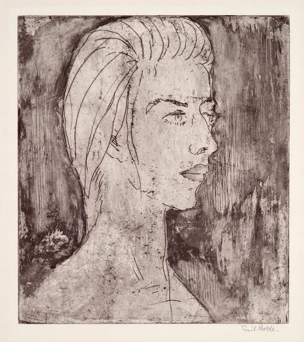 Grethe by Emil Nolde at