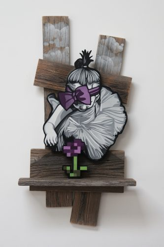 Anotherworld (Violet) by Joe Iurato at