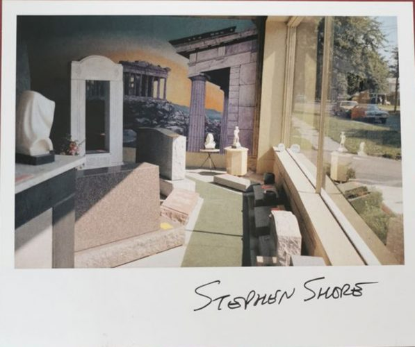 Transparencies by Stephen Shore at