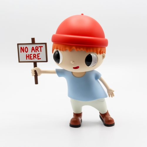 No Art Here by Javier Calleja at