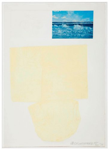 The Tramp by Robert Rauschenberg at