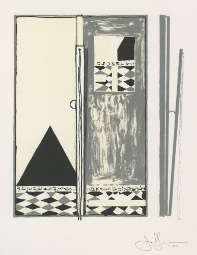 Pyre 2 by Jasper Johns at