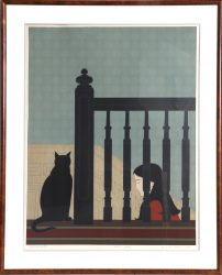 The Bannister by Will Barnet at