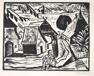 Mittag (Midday) by Max Pechstein at